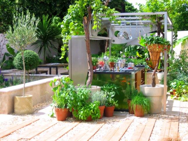 Green Garden Simple Garden Designs Ideas